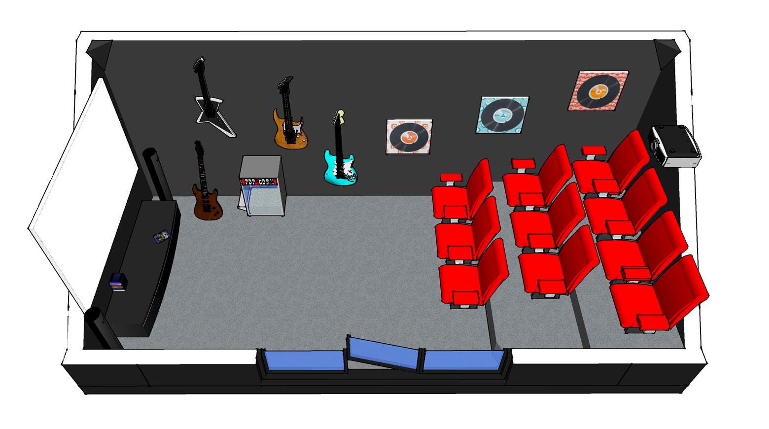 Nova Modules Version cinéma et musique