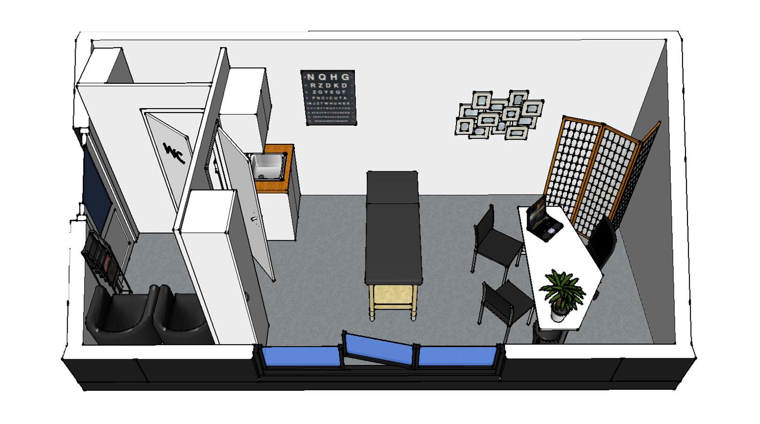 Nova Module bureau de jardin cabinet medical modulaire